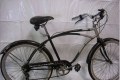 BLACK AND SILVER HUFFY