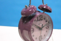 PURPLE GIRLS CLOCK