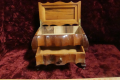 WOODEN JEWELRY BOX (VINTAGE)
