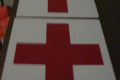 RED MEDICAL CROSS SIGN