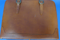 LEATHER BOUND SUITCASE