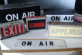 Vintage On Air Sign