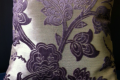 PURPLE/SILVER PILLOW