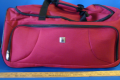5 PIECE RED LUGGAGE SET